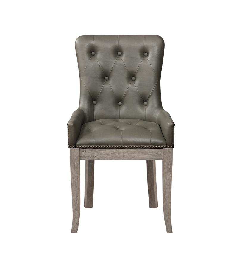 Tufted Side Chair Front