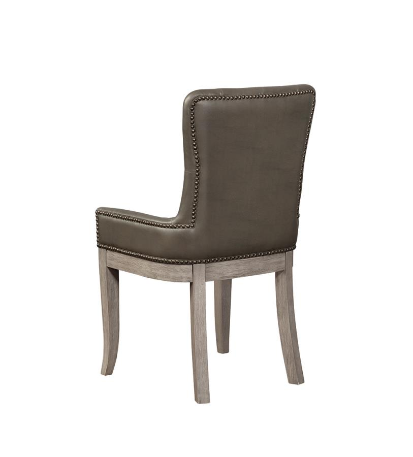 Tufted Side Chair Back