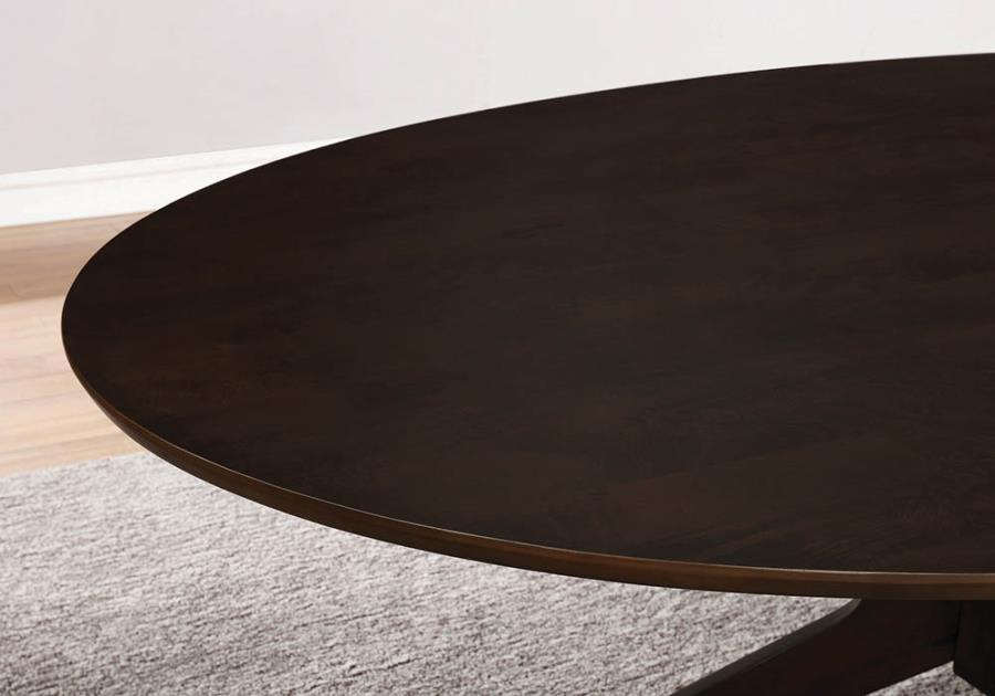Oval Dining Table Details