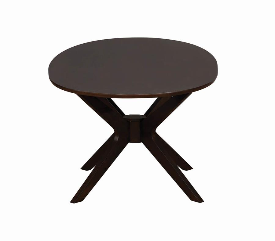 Oval Dining Table Leg Base View