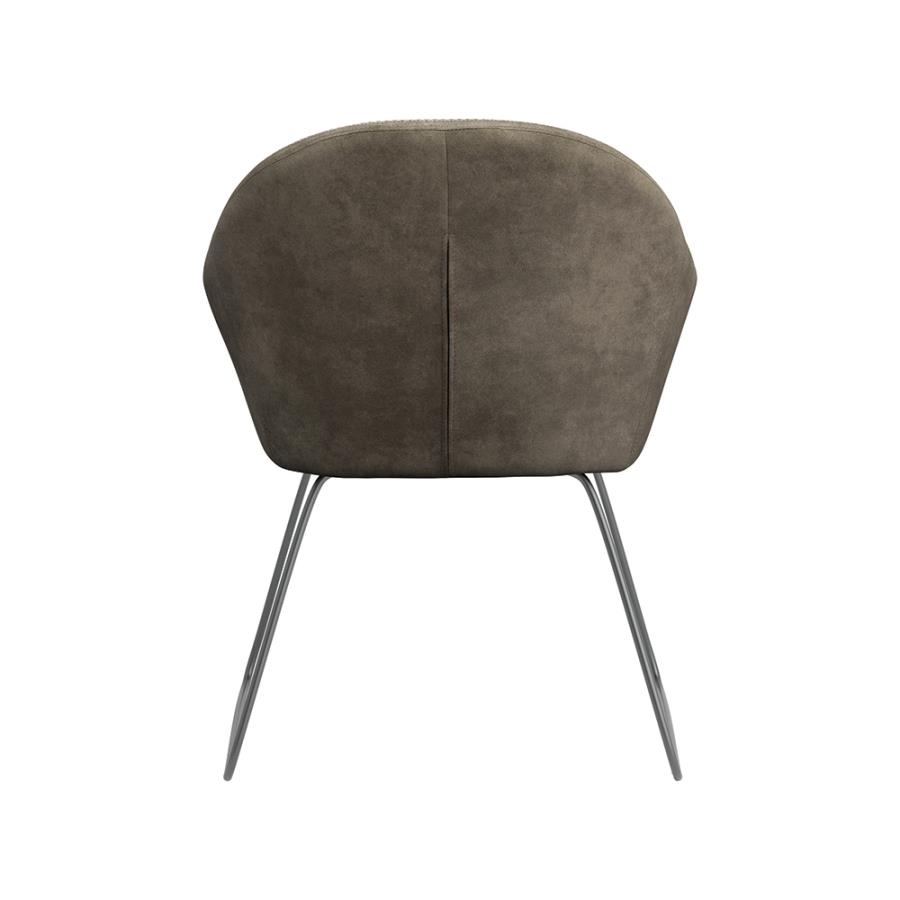 Grey Side Chair Back