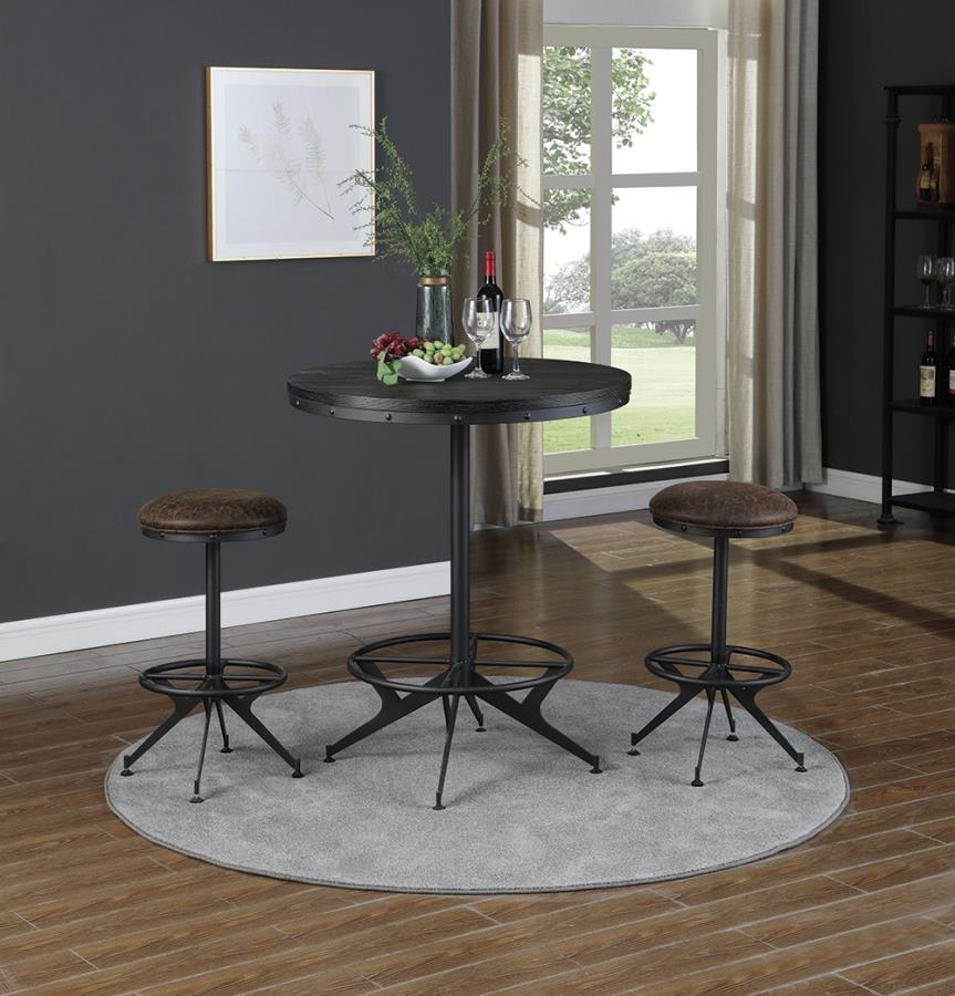 Round Bar Height Dining Table