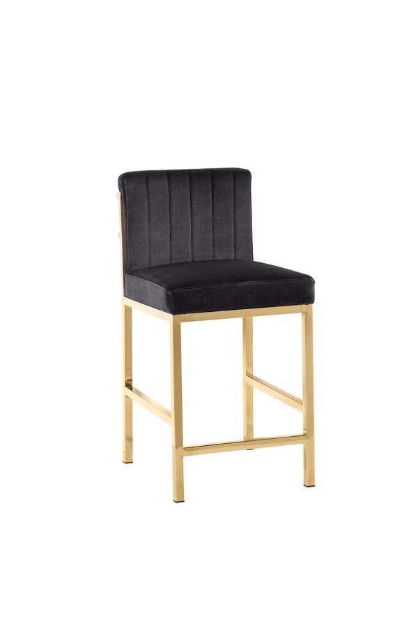 Charcoal Grey Counter Height Stool