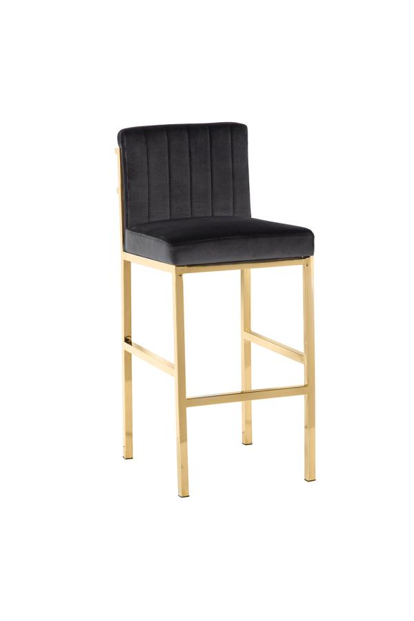 Charcoal Grey Bar Stool