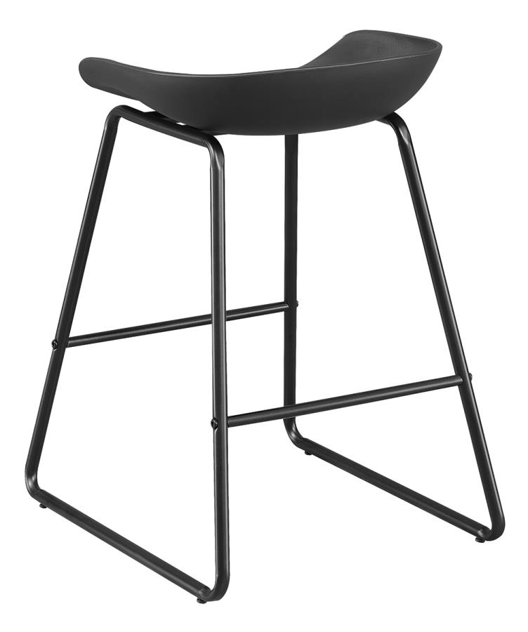 Black Counter Height Stool Back