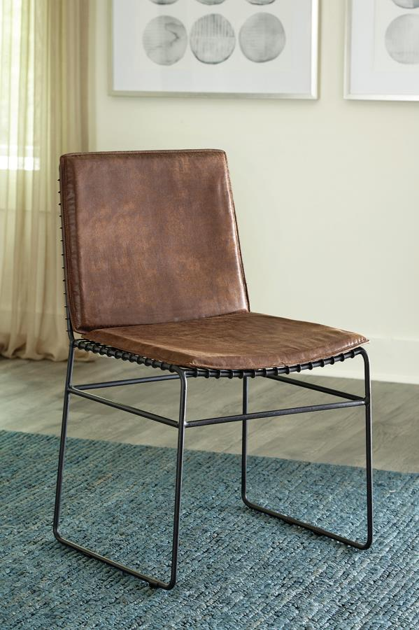 Pressed Fabric Side Chair