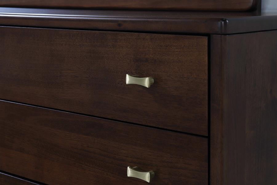 Eight Drawer Dresser Close Up