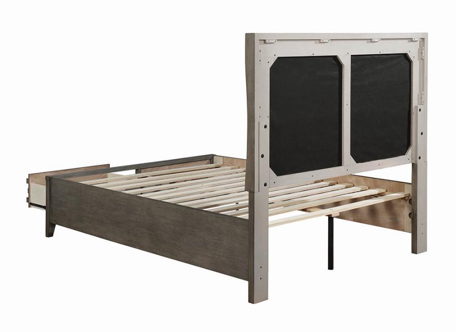 Storage Bed Frame Back