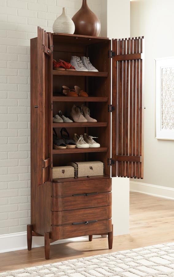 Inside Shoe Cabinet
