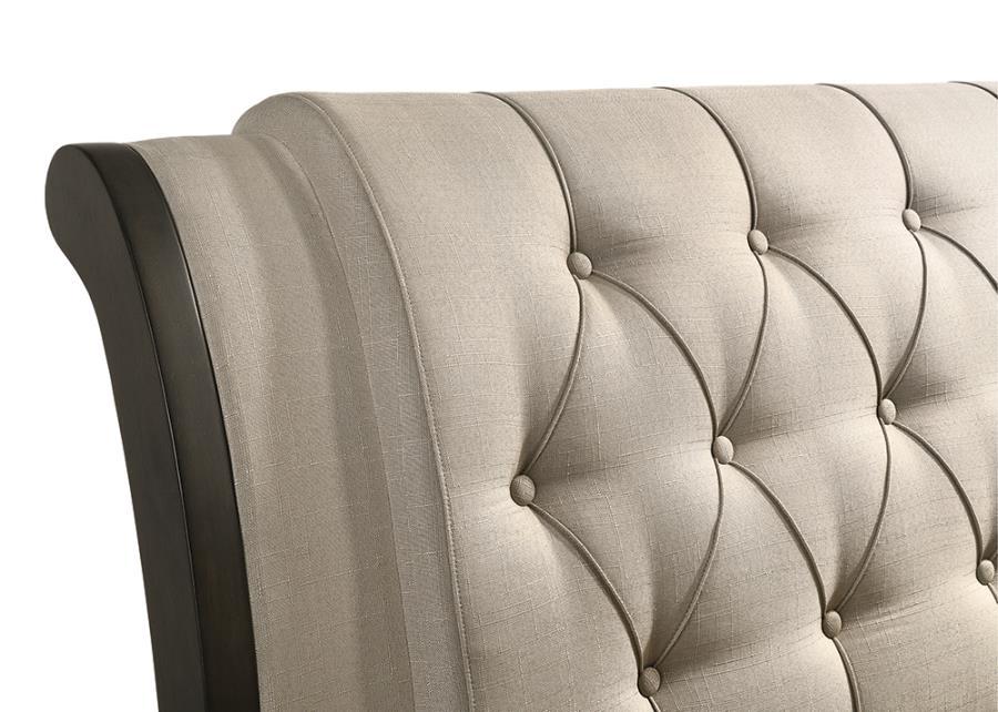 Beige Upholstered Headboard