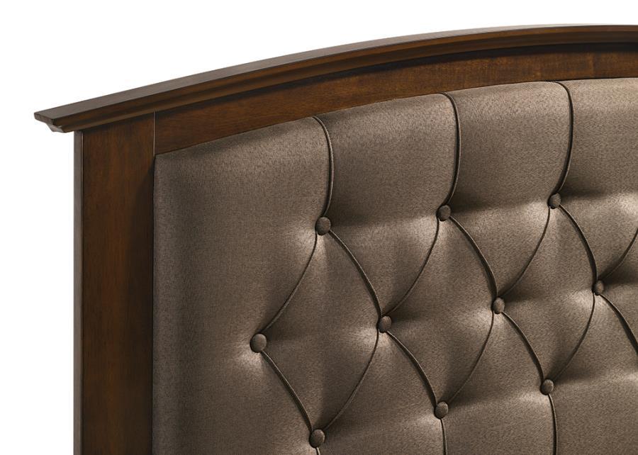 Brown Upholstered Headboard