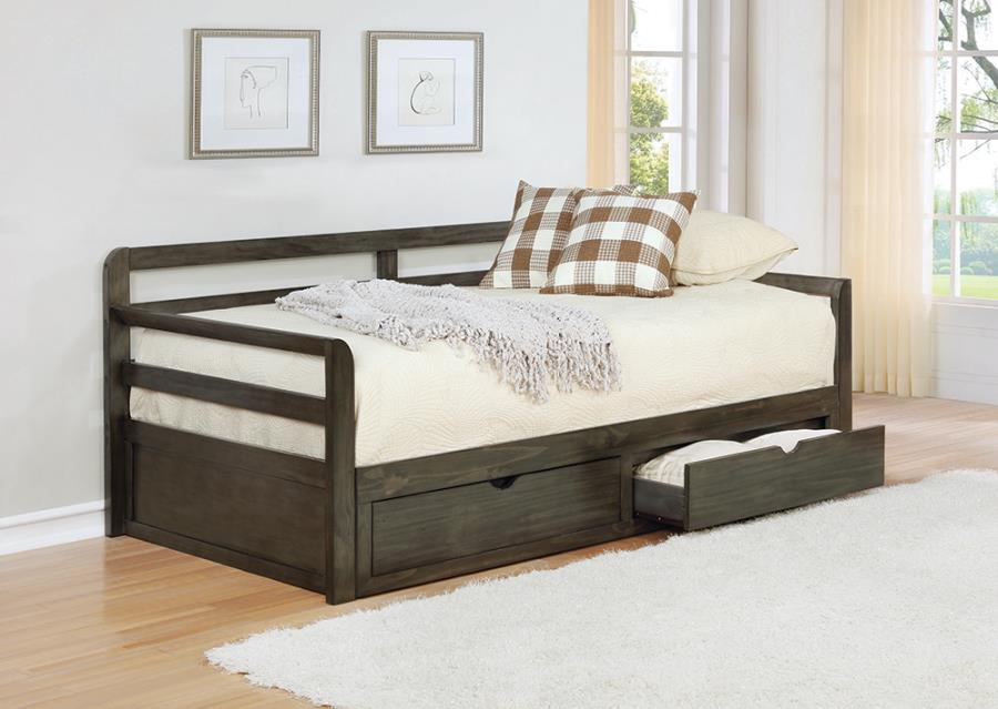 Twin Daybed with Storage Drawers