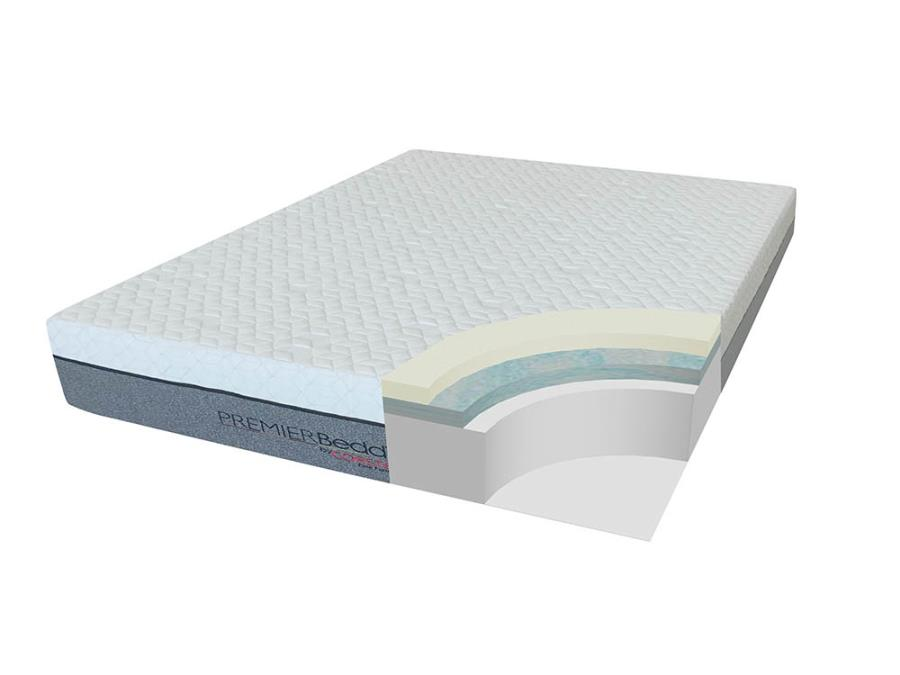 "12"" Memory Foam Mattress Comfort Technology"