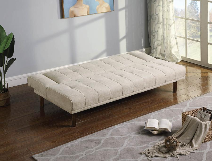 Sofa Transitioned Into a Bed