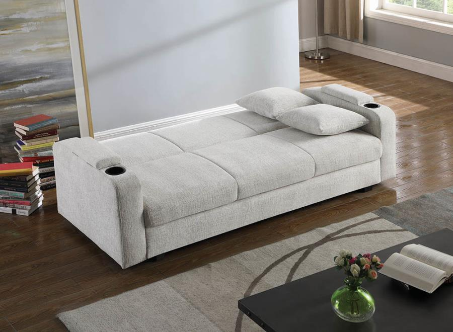 Transitional Sofa Into Bed