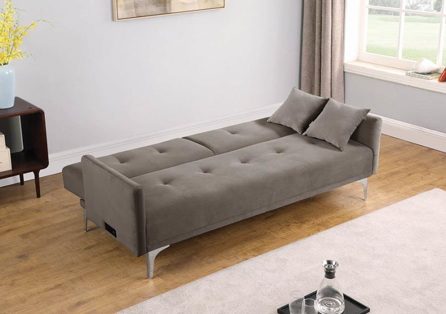 Sofa Transitioned Into Bed