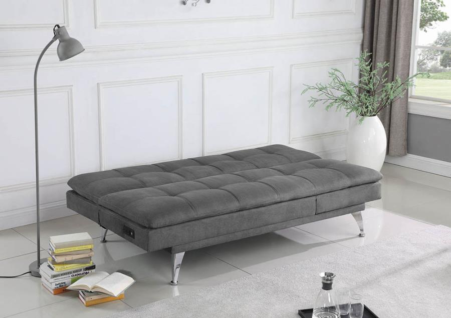 Sofa Bed Converted Into Bed