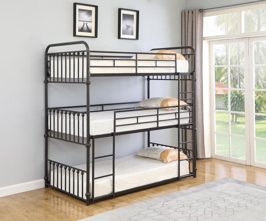 Triple Triple Bunk Bed Roomview
