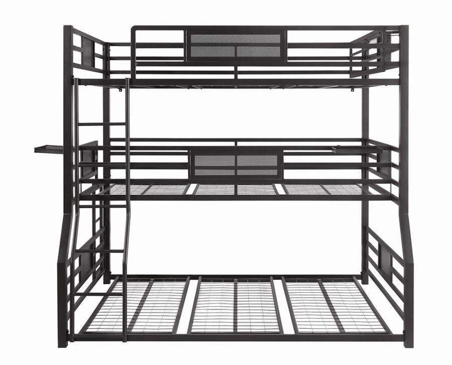 Queen Bed Frame Side View