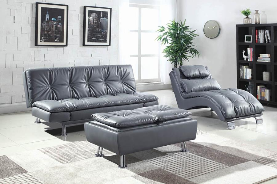 Grey Complete Sofa Bed Set
