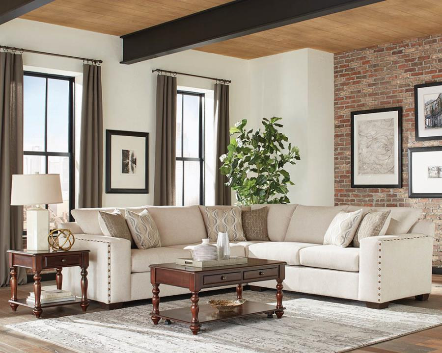 Sectional Sofa Living Room View