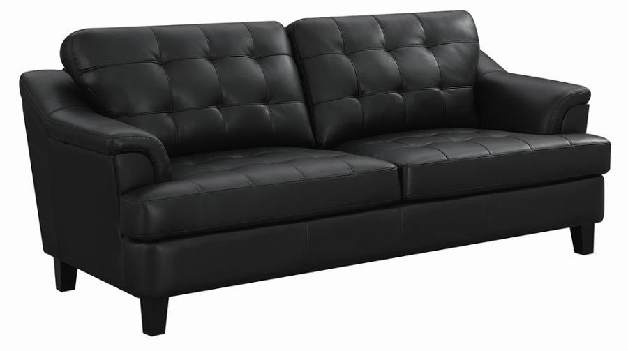 Black Sofa Angle