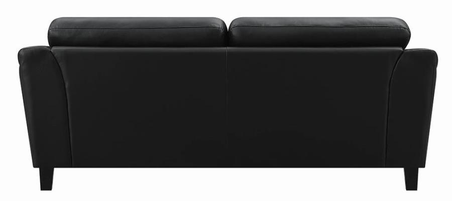 Black Sofa Back