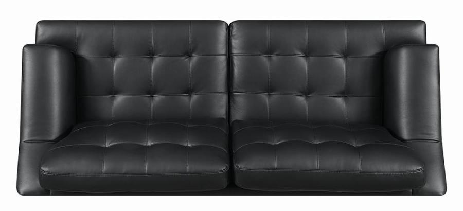 Black Sofa Top View