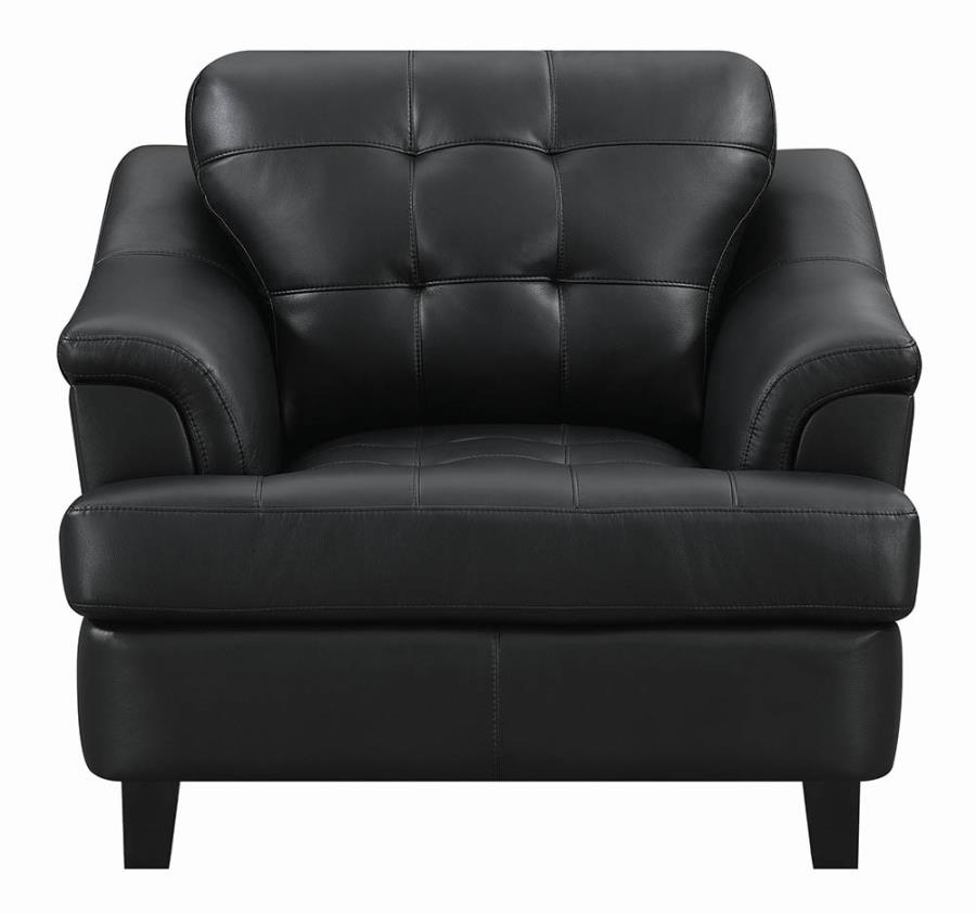 Black Chair Front