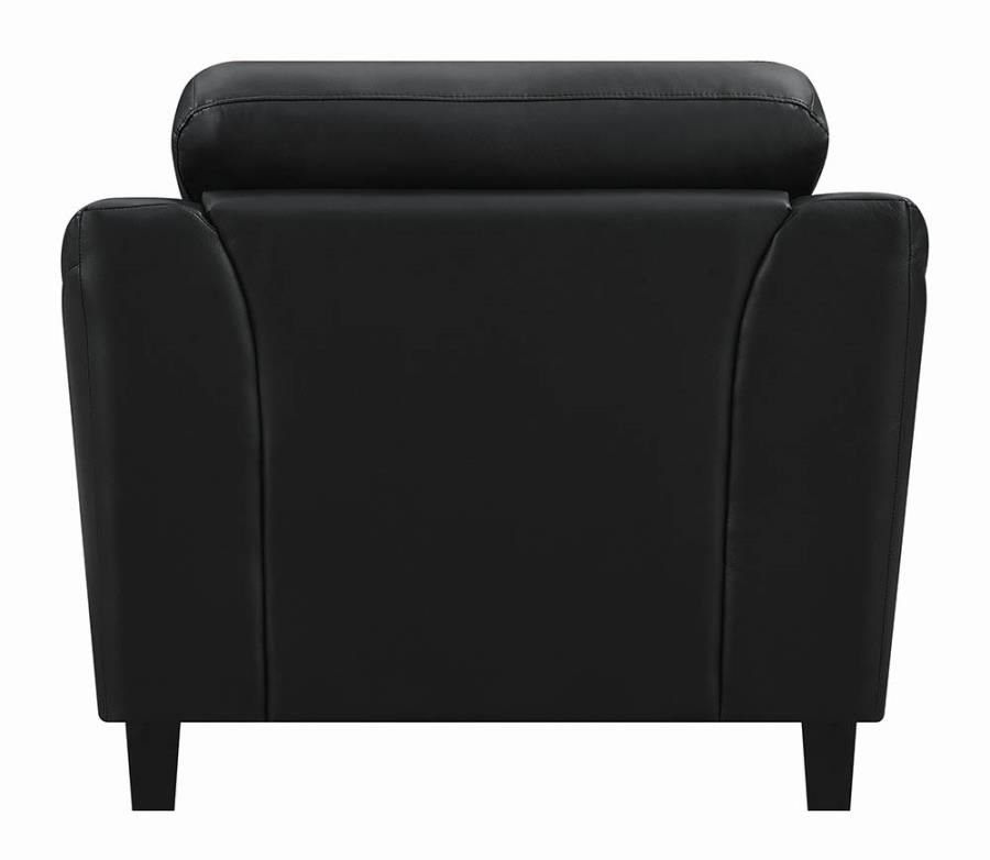 Black Chair Back