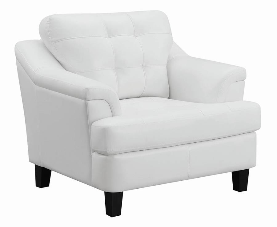 Snow White Chair Angle