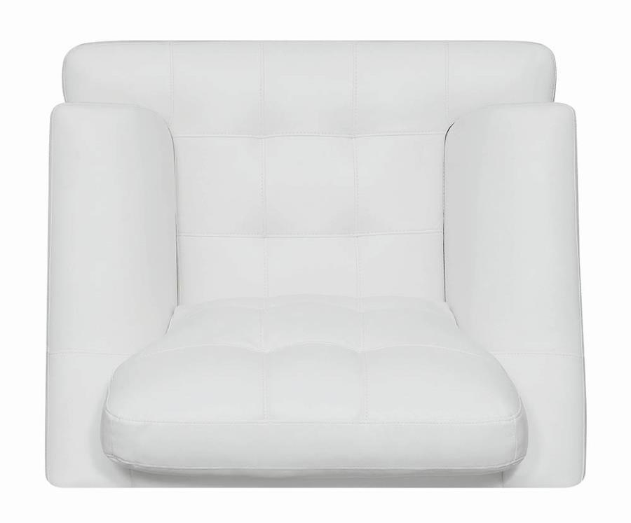 Snow White Chair Top View