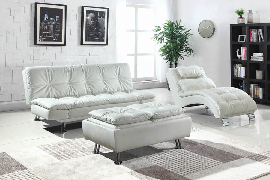 White Complete Sofa Bed Set