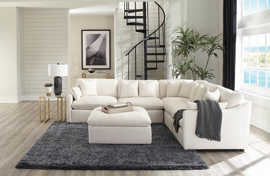 Complete Sectional Sofa Set Living Room View