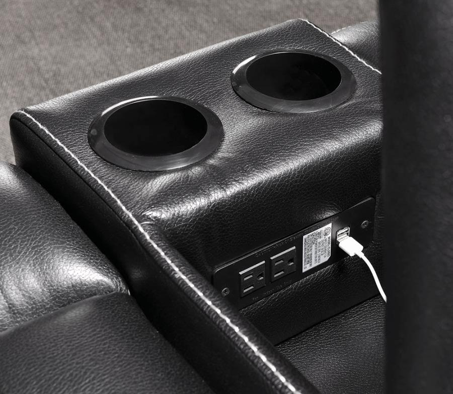 Power Outlet in Storage Console