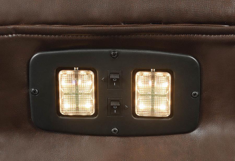 Headrest LED Reading Light in Sofa