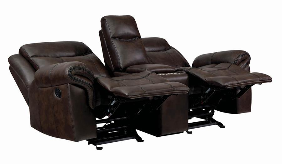 Power Motion Loveseat Reclined
