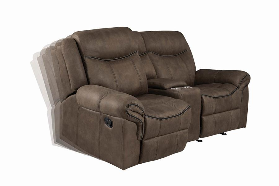 Glider Loveseat Left Facing Seat