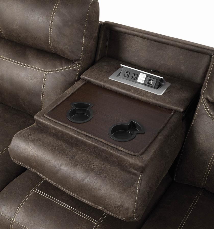 Drop Down Console in Sofa