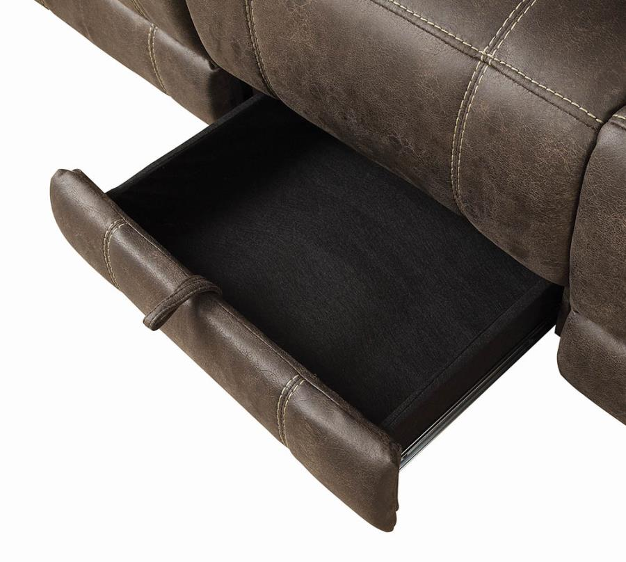 Storage drawer in Middle Sofa Seat