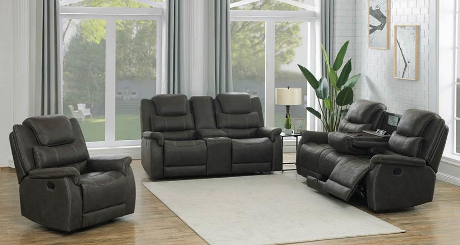 Complete Reclining Sofa Set