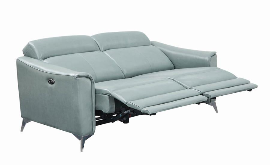 Power Motion Sofa Fully Reclined