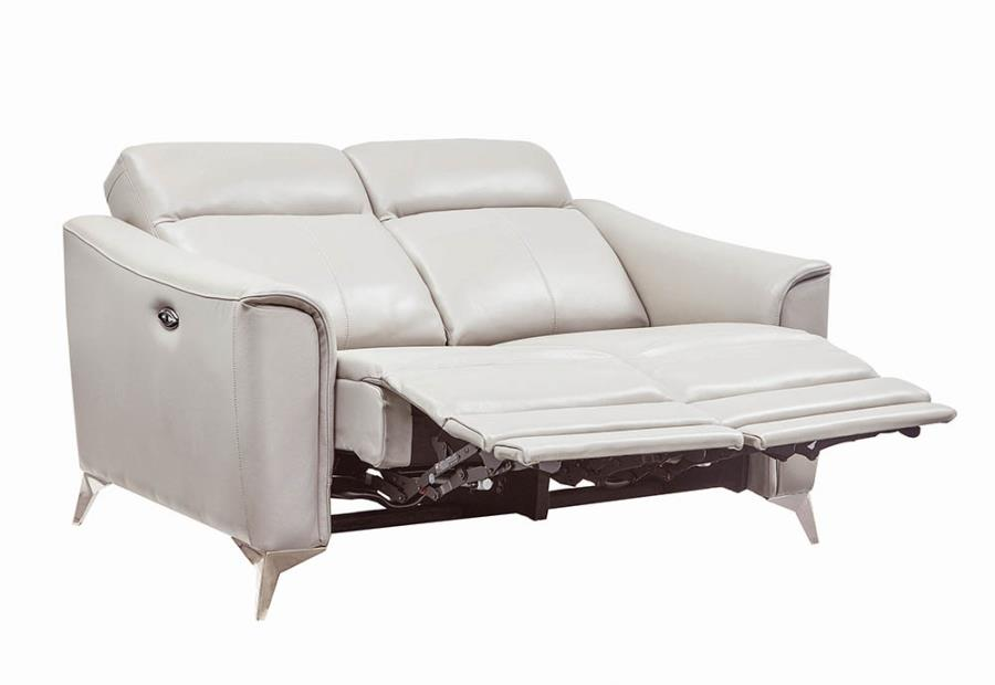 Power Motion Loveseat Fully Reclined