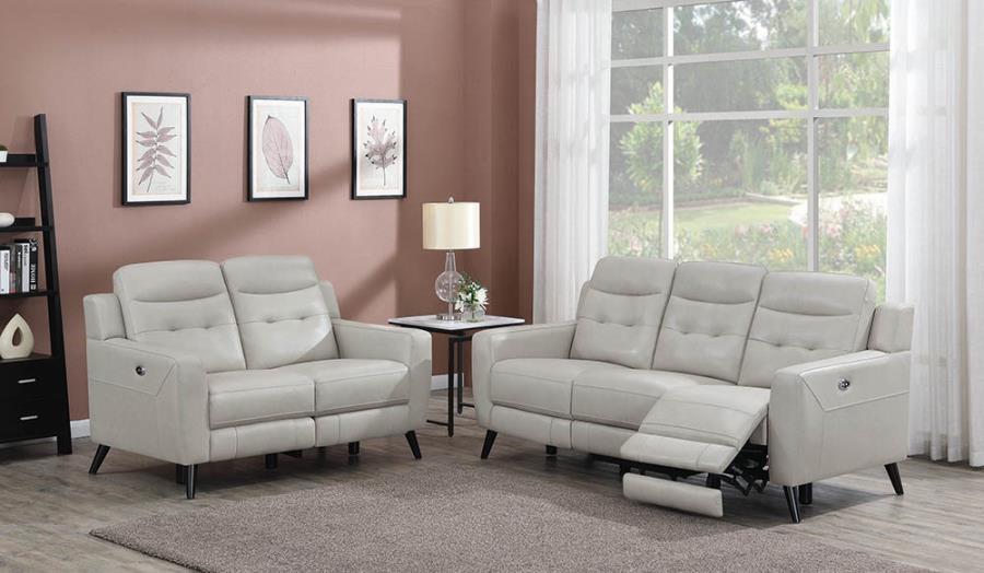 Power Motion Sofa & Loveseat Set
