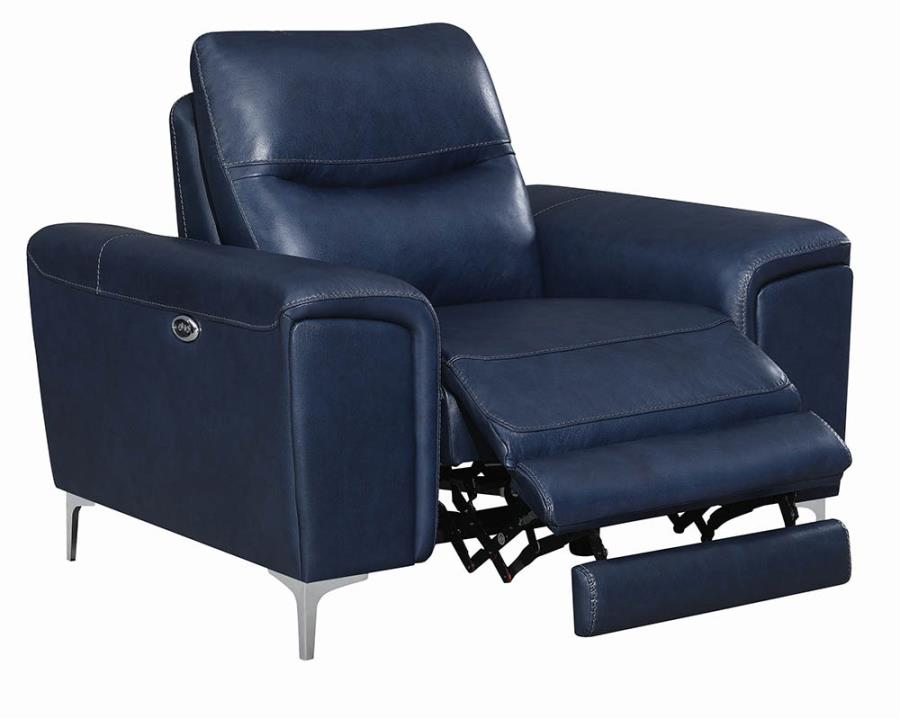 Power Motion Recliner Semi-Opened