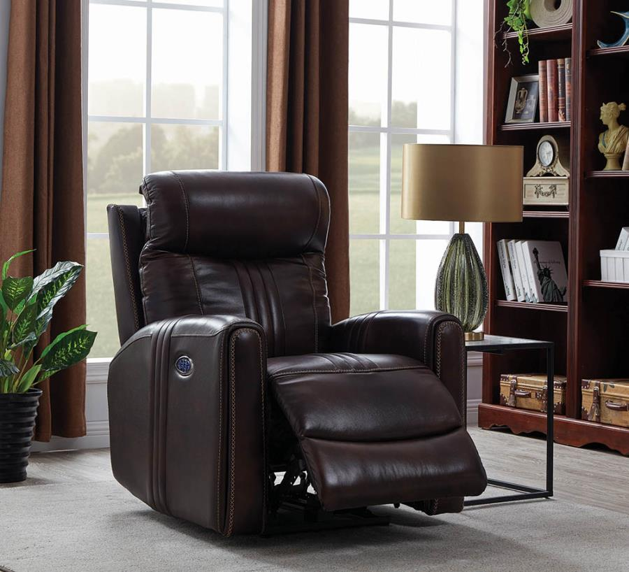 Brown Power Motion Recliner