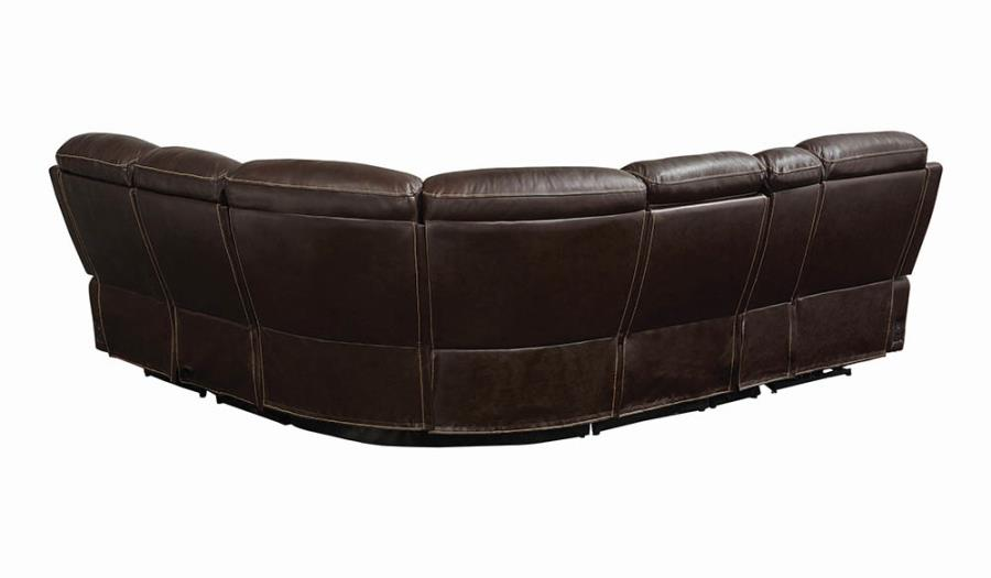 Complete 6-piece Sectional Sofa Back