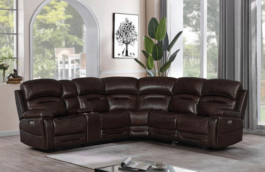 Complete 6-piece Sectional Sofa