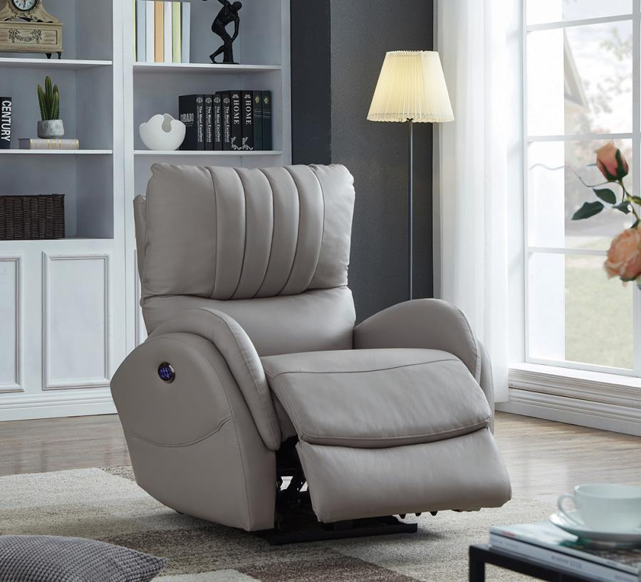 Grey Power Motion Recliner
