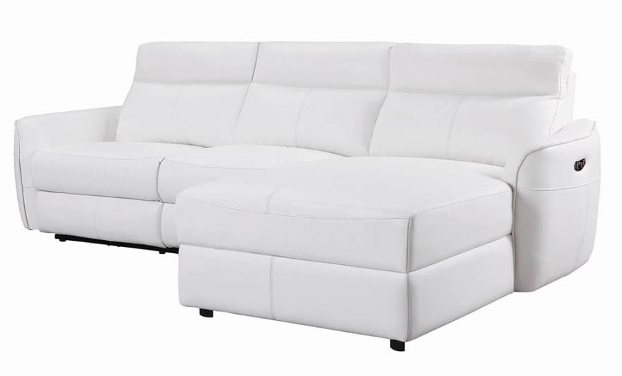 3 PC Sectional Sofa Angle